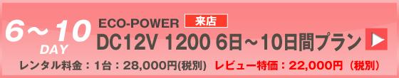 ECOPOWER-1200 10日間