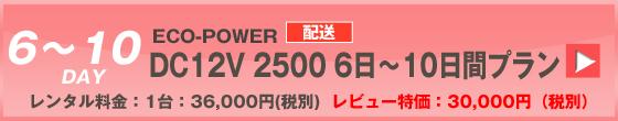 ECOPOWER-6400 10日間