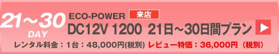 ECOPOWER-1200 30日間