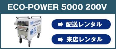 エコ・パワー5000 200v