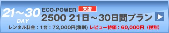 ECOPOWER-6400 30日間